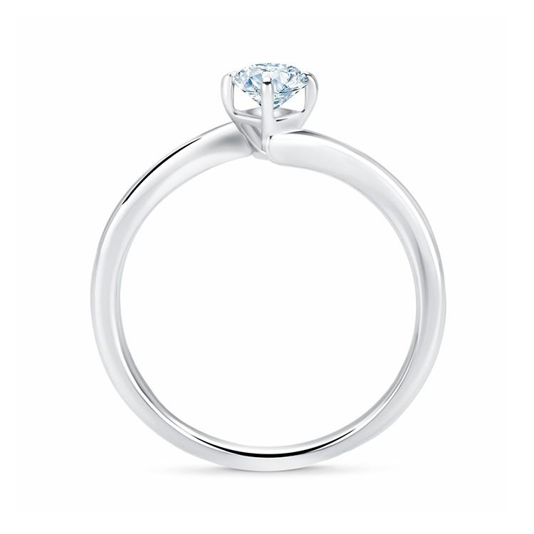 Solitario Oro Blanco Diamante LESATH SR59 3