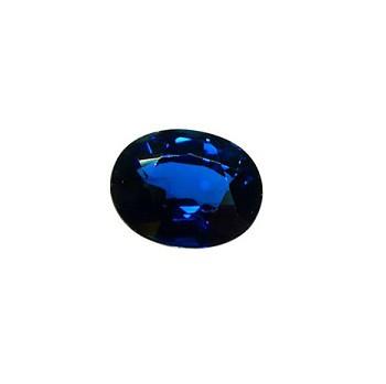 zafiro azul dos quilates