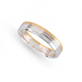 Alianza Matrimonio Oro Blanco Amarillo