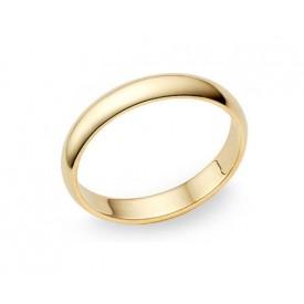 alianza de boda en oro blanco