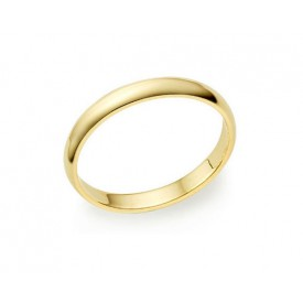 alianza boda oro amarillo de 2 milímetros