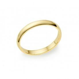 Alianza Boda Oro Amarillo 2 mm