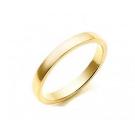 Alianza Matrimonio Oro Amarillo Plana