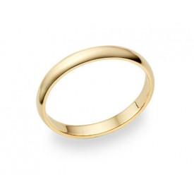 alianza de matrimonio oro amarillo 2.5 milímetros