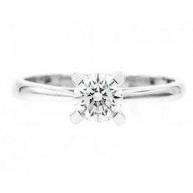 anillo con diamante garra - sc252