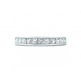 anillo alianza de princesas diamantes