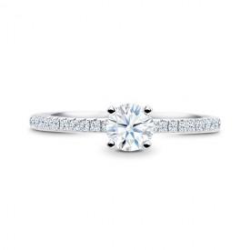 """Anillo de Compromiso """"Minami"""" diamante, elegante y clásico"""