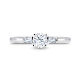 """Anillo """"Paris"""" oro 18k y diamantes"""