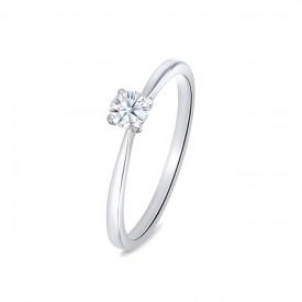 """Anillo """"PraiaStyle"""" oro blanco 18k diamante"""
