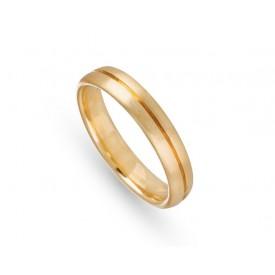 anillo boda amarillo