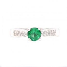 anillo de esmeralda HIGASHI