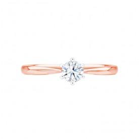 anillo compromiso oro rosa florencia