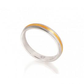 anillo dos oros