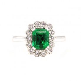 anillo esmeralda kaori