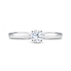 anillo platino brillante 950 sr 18 pt