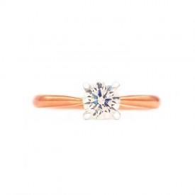 anillo oro rosa Verona