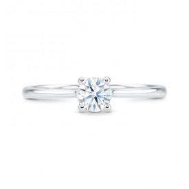 anillo solitario platino Pekin - SR 16 PT