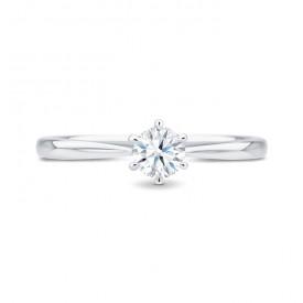 Anillo Florencia Platino 950 Diamante - SR 14 PT