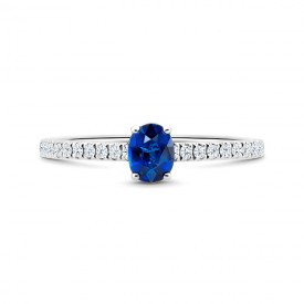 Anillo zafiro brillantes Blue Tunisia SRC 24