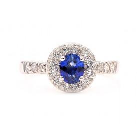 anillos de zafiro y diamantes
