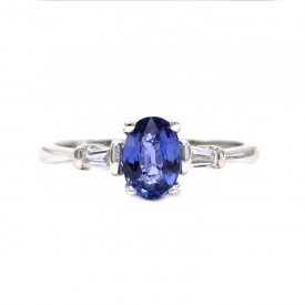 Anillo de Zafiro - BLUE FLORIDA