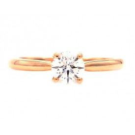 anillos de oro rosa