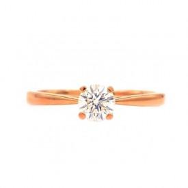 anillo oro rosa ARTEMISA