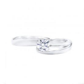 anillo moderno compromiso