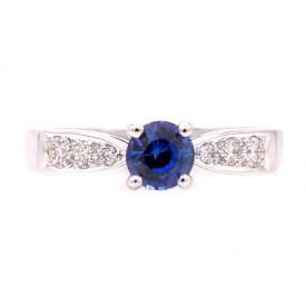 anillos de zafiro HIGASHI