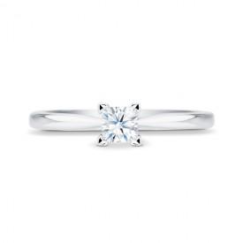 """Solitario """"SURYA"""" diamante de Talla Princesa, clásico y elegante"""