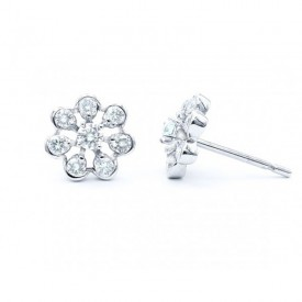 orla diamantes pendientes