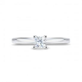 """Anillo """"Surya"""" 0.15 cts. oro blanco de 18 k y diamante"""