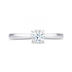 Sortija Diamante Oro Blanco HARMONY