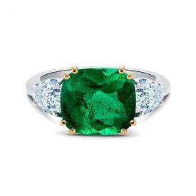 sortija-esmeralda-diamantes-corazón-si 201