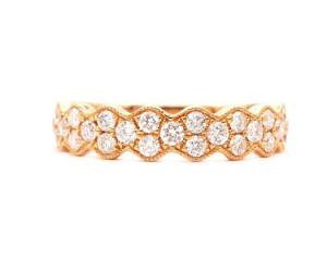 alianza diamantes oro rosa