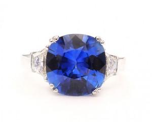 anillos de zafiro diamantes