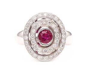 anillos rubies