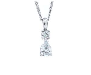 colgantes diamantes