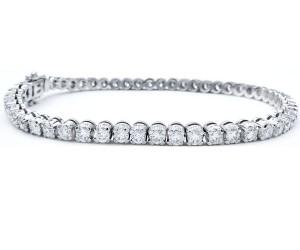 pulsera diamantes garras
