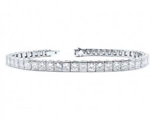 pulsera diamantes princesa
