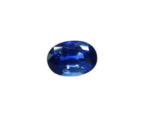 zafiro azul intenso