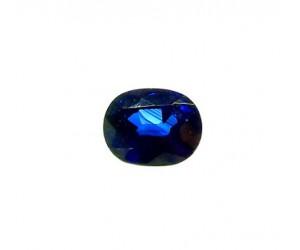 zafiro azul oval