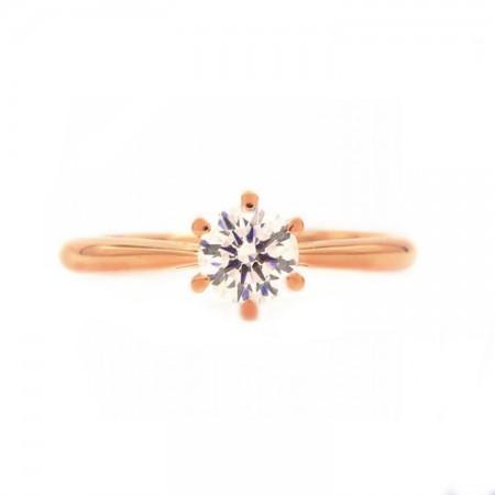 anillo MILAN oro rosa