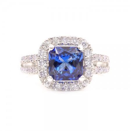 anillo blue dubai zafiro