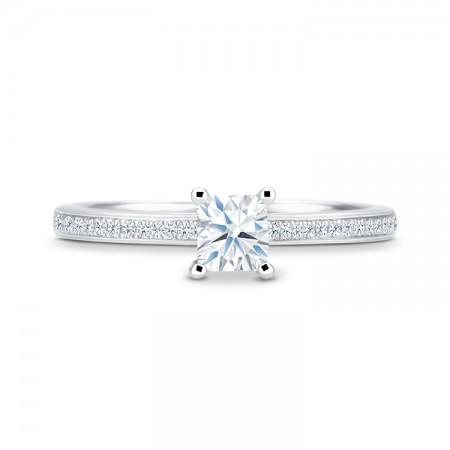 anillo diamante princesa melodia sr49