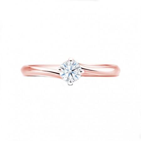 anillo oro rosa arba