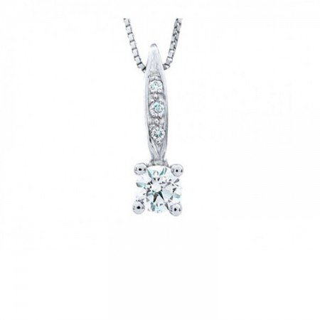 colgante en diamantes