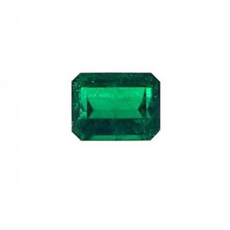 esmeralda octogonal para anillo