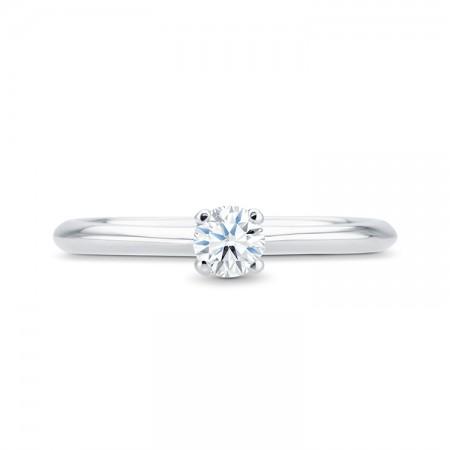 anillo pedida solitario oro HAIFA SR 26