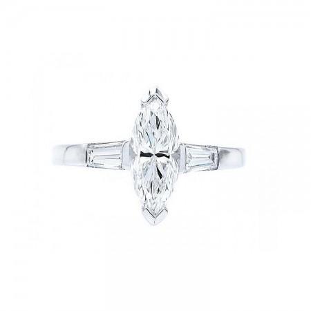 sortija diamante talla marquise SCE 26